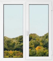 Одностворчатое пластиковое энергосберегающее окно
