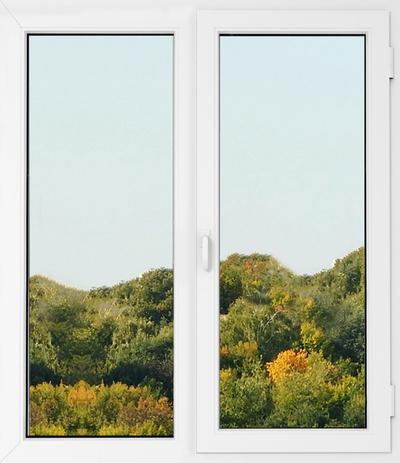Одностворчатое пластиковое энергосберегающее окно - main